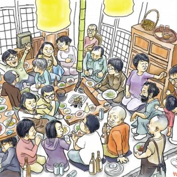 太平 T先生邸-イラスト